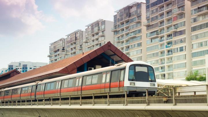 Encuentra el mejor lugar para moverse en transporte público en Singapur
