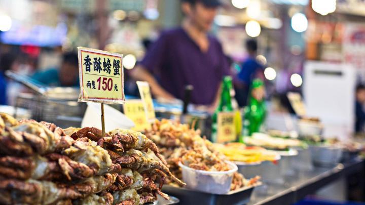 Encuentra el mejor lugar para la comida callejera en Taipéi