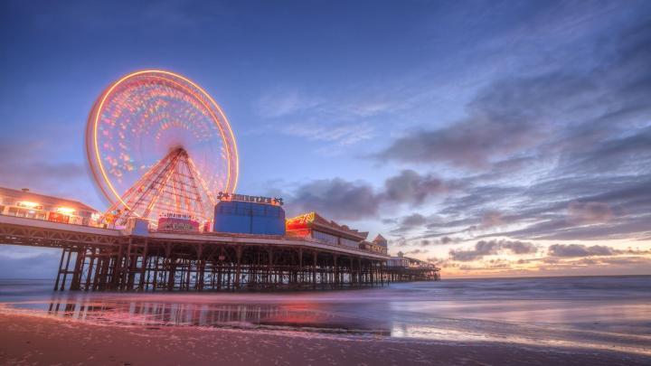 Encuentra el mejor lugar para el ocio en Blackpool