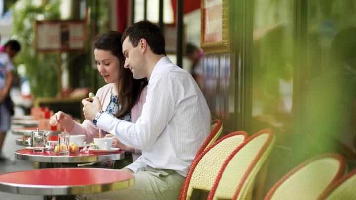 Encuentra el mejor lugar para las cafeterías en París