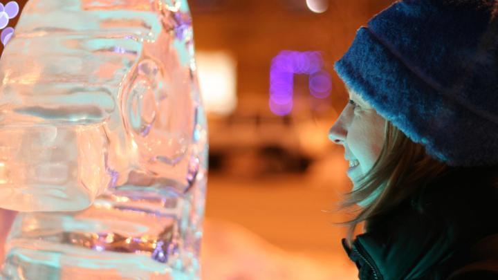 Encuentra el mejor lugar para las esculturas de hielo en Fairbanks