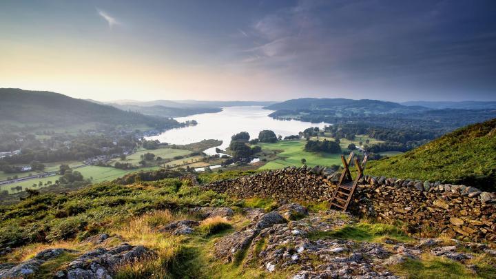 Encuentra el mejor lugar para los lagos en Windermere