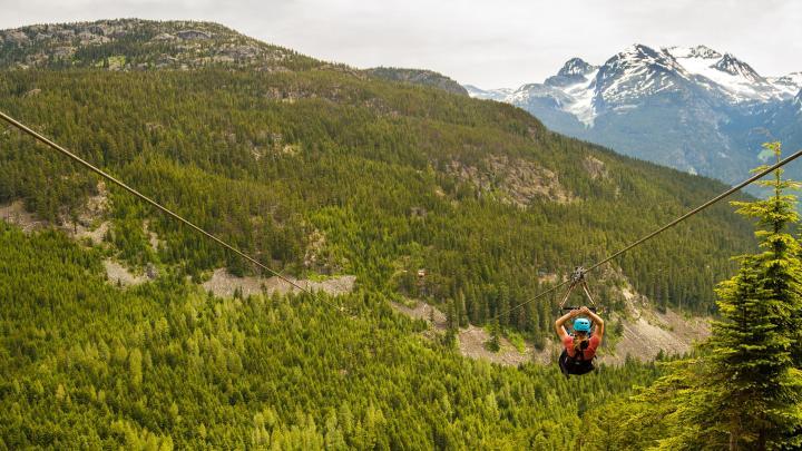 Encuentra el mejor lugar para las actividades al aire libre en Whistler