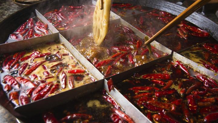Encuentra el mejor lugar para la comida picante en Chongqing