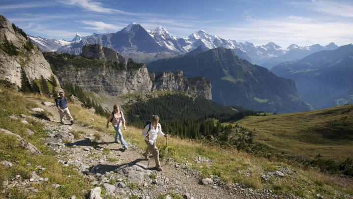 Find the best hiking in Grindelwald