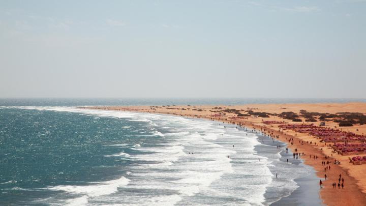 Encuentra el mejor lugar para los días soleados en Playa del Inglés