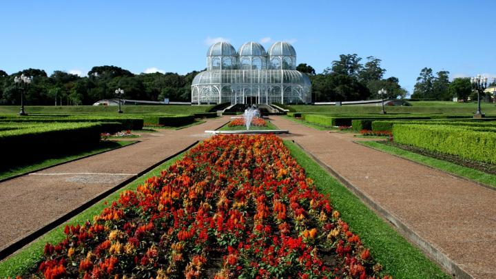 Encuentra el mejor lugar para los jardines botánicos en Curitiba