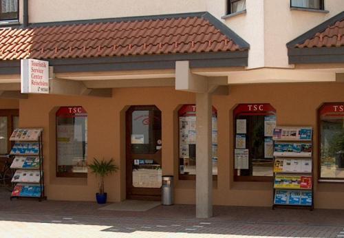 Touristik Service Center, Ckeck-in