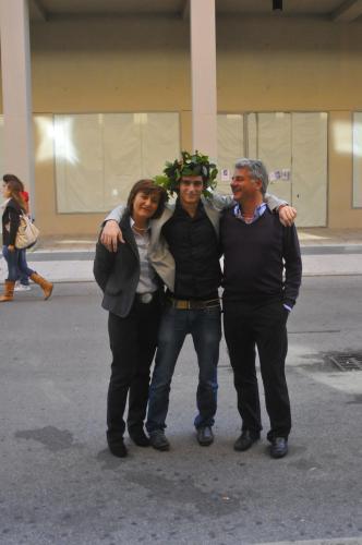 Luisa, Lorenzo and Marco