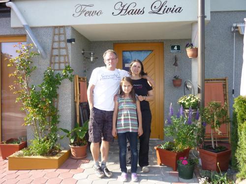 Michel, Mara, Livia