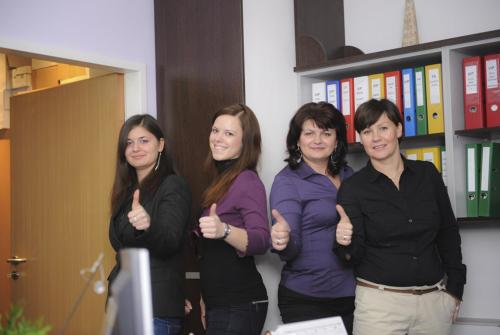 Anita, Erika, Dorina, Sofie