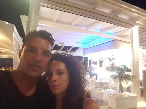Lorenzo and Stefania (My wife and I)