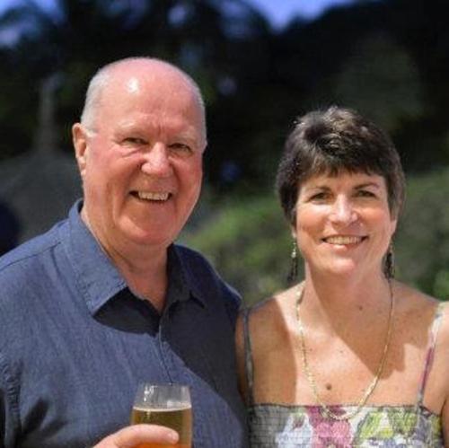 Judy and Allan