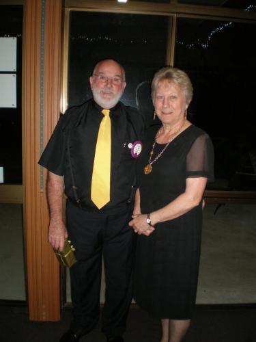 David & Coral at Lions Club Dinner