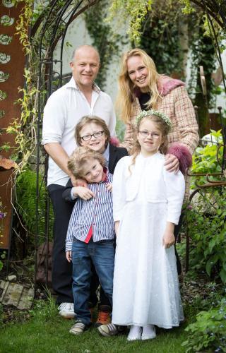 Gerhard u shirley Millinger mit kids