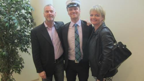Gunnar, Haffi & Helga
