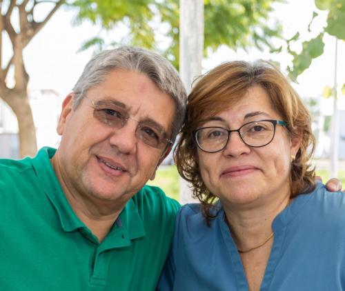 Carlos e Ana Cristina (the owners)