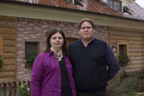 Urša in MIha, lastnika in managerja