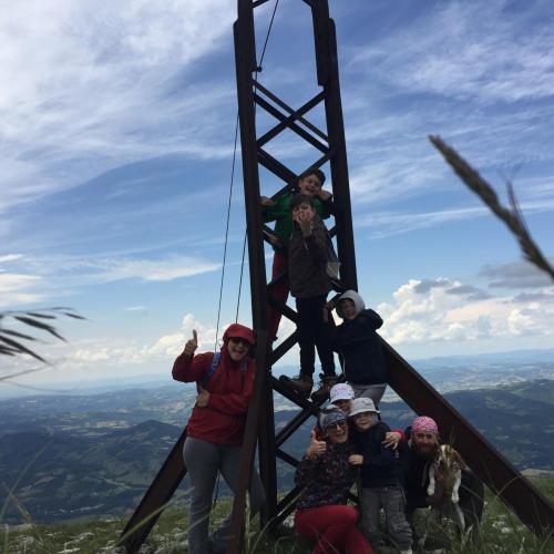 un pò di noi in passeggiata al Monte Cucco