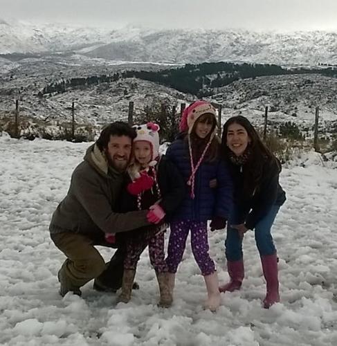 Laura, Juan, Joaqui y Cata