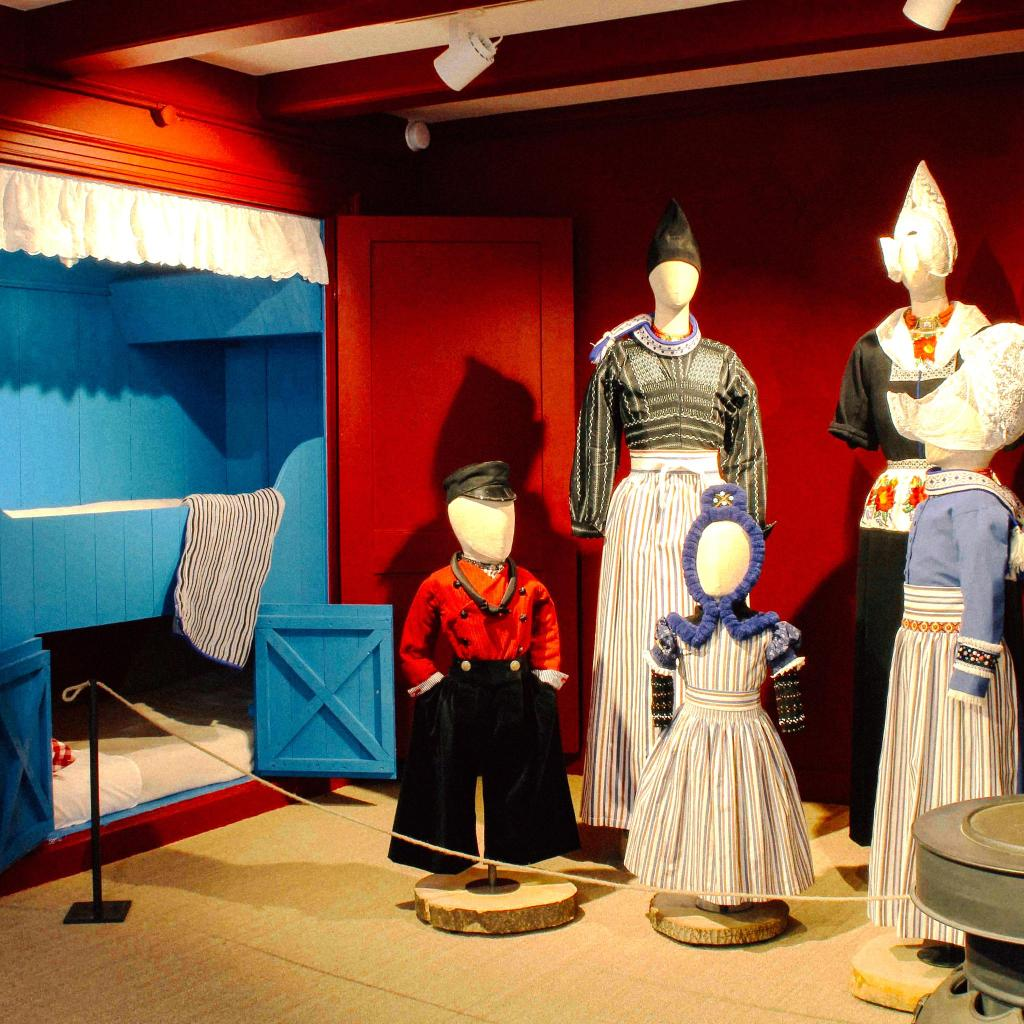 Het Klederdrachtmuseum aka The Dutch Costume Museum with a collection spanning multiple eras