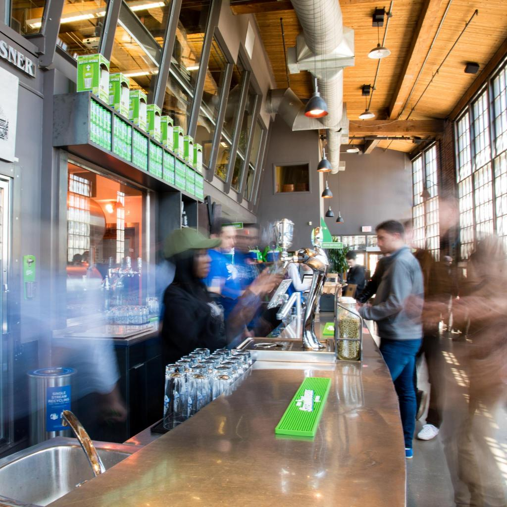 Steam Whistle makes only one beer – a refreshing pilsner, sold nationwide