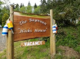 Bayocean 'Hicks' House, Tillamook