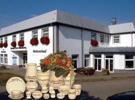 Keramik Hotel Rheinsberg, Rheinsberg