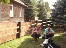 Eingezäuntes Ferienhaus für Hundeurlaub, Dabel