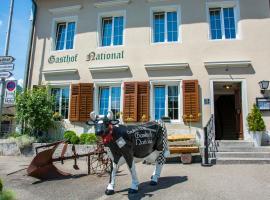 Gasthof National, Langendorf