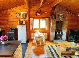 Red squirrel lodge, Galway