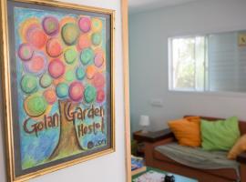 Golan Garden Hostel, Qasrîne