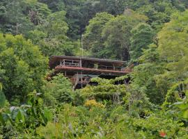 Lookout Inn Beach Rain-forest Eco Lodge, Carate