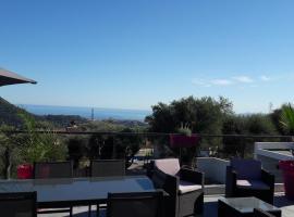 Villa d architecte piscine avec vue mer, Nica