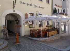 Gasthaus zur Sonne, Schwarzenberg