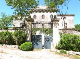 chateau christin, Junas
