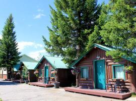 Moose Creek Cabins, Zapadni Jeloustoun