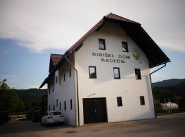 Ribiški dom Radeče, Radeče
