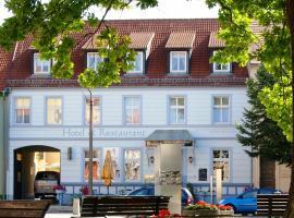 Bluhm's Hotel & Restaurant am Markt, Kyricas