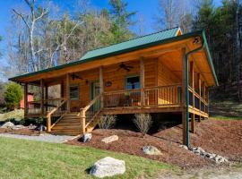 Laurel Mountain Retreat - Brookside Cabin, Weaverville
