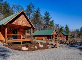Laurel Mountain Retreat - Evergreen Cabin, Weaverville