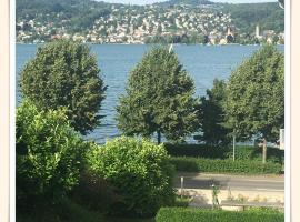 Lake View Apartment with Garden, Rüschlikon