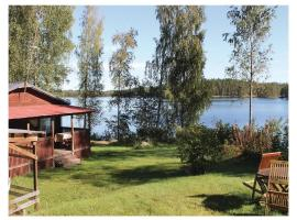Holiday Home SF-52700 Halmeniemi with Fireplace 06, Huuhilo