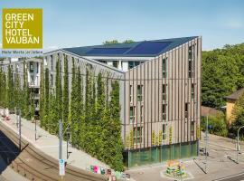 Green City Hotel Vauban, Freiburg im Breisgau