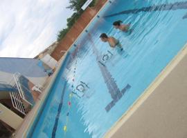 restaurant la piscine, Saint-Chinian