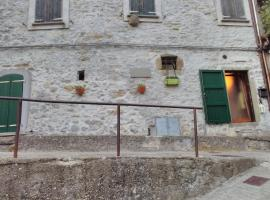Casa Quaratica, Riccò del Golfo di Spezia
