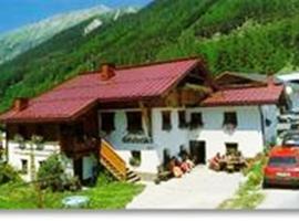 Haus Gletscherblick, Längenfeld