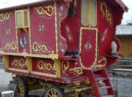 Rosie Gypsy Caravan, Rhayader