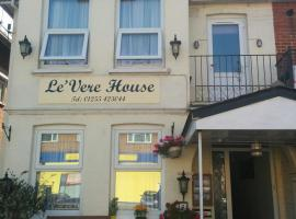 Le Vere House, Clacton-on-Sea