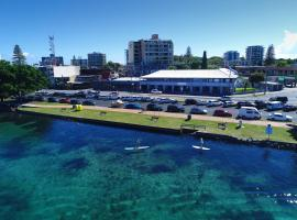 Lakes and Ocean Hotel, Forster